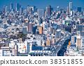 """""""오사카""""한신 고속도로 교통 이미지 38351855"""