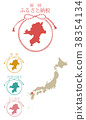 japan, map, of 38354134