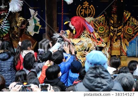 Setsubun Festival Festival Demon Stock Photo 38354527 PIXTA