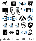 Security system network icon. Vector illustration. 38354643