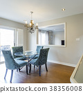 Dinning room with table and chairs 38356008