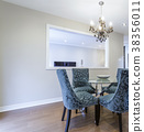 Dinning room with table and chairs 38356011