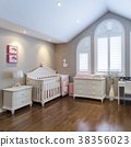 Kids room Interior design 38356023
