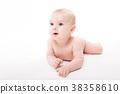 baby, cute, lying 38358610
