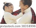 媽媽 父母和小孩 親子 38358996