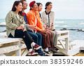 歐洲人 白種人 海 38359246