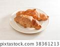 ครัวซองค์,ขนมปัง,อาหารเช้า 38361213