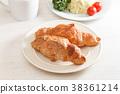ครัวซองค์,ขนมปัง,อาหารเช้า 38361214