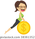 Yoga Money Woman 38361352