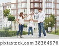family, apartment, building 38364976