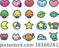 圖標 Icon 一組 38366261