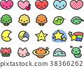 圖標 Icon 一組 38366262