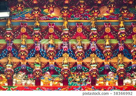 中國宗教,寺廟,木雕工藝,中国の宗教、寺院、木彫り工芸,temples, wood carving  38366992