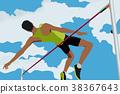 高 跳 運動員 38367643