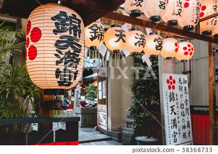 錦天滿宮,神社,燈籠,裝飾,Temple, Shinto shrine, lantern 38368733