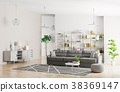 3d couch interior 38369147