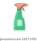 Cleaning spray bottle. 38371405