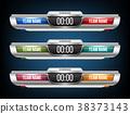 Creative vector illustration digital scoreboard 38373143