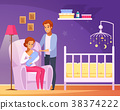 Breastfeeding Cartoon Composition 38374222
