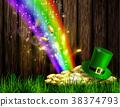 day, green, symbol 38374793