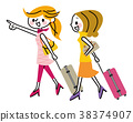 여행 여성 38374907
