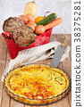 Savory Cake With Vegetables 38375281