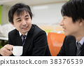 咖啡 电脑线上鉴识证据撷取器 商务人士 38376539
