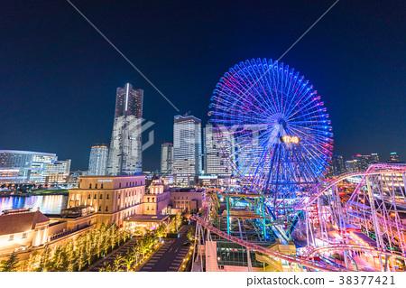 横滨 未來港 夜景 38377421