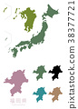 japan, map, of 38377721