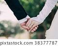 리조트 웨딩 손을 잡고 수중 결혼 38377787