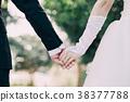 가든 웨딩 손을 잡고 수중 결혼 38377788