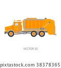 Color plain vector icon construction machinery 38378365