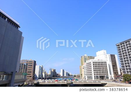 fukuoka, hakata-ku, sandbank 38378654