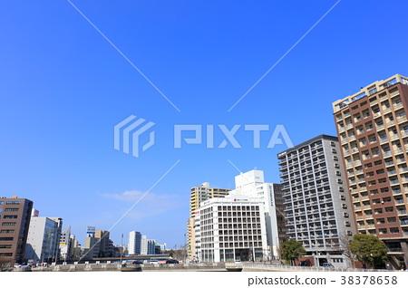 fukuoka, hakata-ku, sandbank 38378658