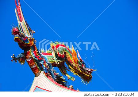 中國宗教,寺廟寺廟屋頂,龍,中國宗教,寺廟屋頂,龍,寺廟屋頂,龍 38381034