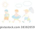 세트, 여름, 아이 38382659
