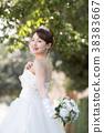 婚禮 婚紗 新娘 38383667