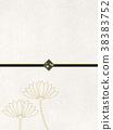 กระดาษญี่ปุ่น,สไตล์ญี่ปุ่น,พื้นหลังสีขาว 38383752