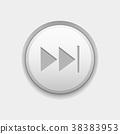 button, fast, forward 38383953