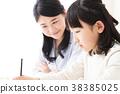 교육 부모 교사 숙제 공부 선생님 아이 38385025