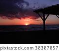 sunset, sundown, twilight 38387857