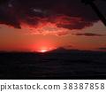 sunset, sundown, twilight 38387858
