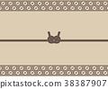 日式信封裝飾 裝飾繩 日式 38387907