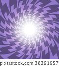 Lightening ultra violet purple electric spark 38391957