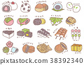 wagashi, japanese confectionery, japanese candies 38392340