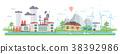 design modern flat 38392986