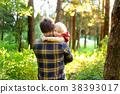 森林 树林 孩子 38393017