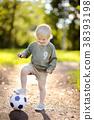 축구, 소년, 남자 38393198