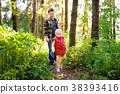 森林 树林 爸爸 38393416