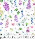 lilac, watercolor, floral 38393535